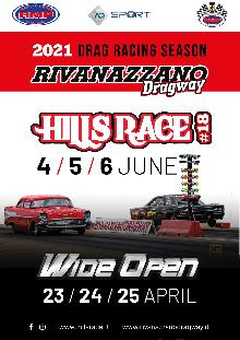Rivanazzano Dragway Drag Racing Season 2021