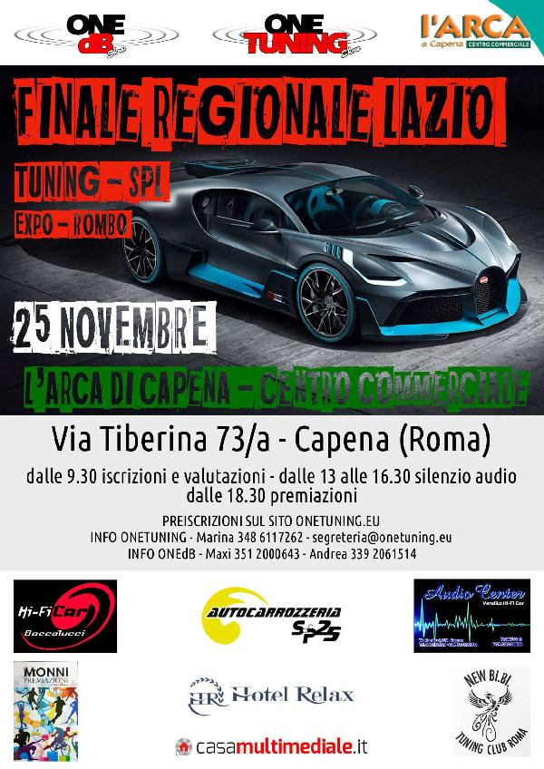 Eventi e Sagre Raduno auto tuning Lazio finale, regionale, lazio, one, tuning, and, amp, one, db, show