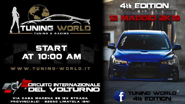 Eventi e Sagre Raduno auto tuning Campania tuning, world, 2k19, 4th, edition