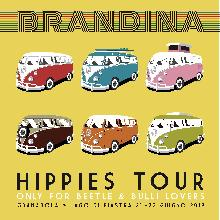 Brandina Hippies Tour