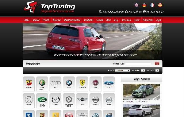 Negozi Officine modifiche centraline Top Tuning Digital Performance