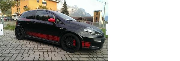 Fiat punto abarth punto evo super accessoriata for Auto super accessoriata