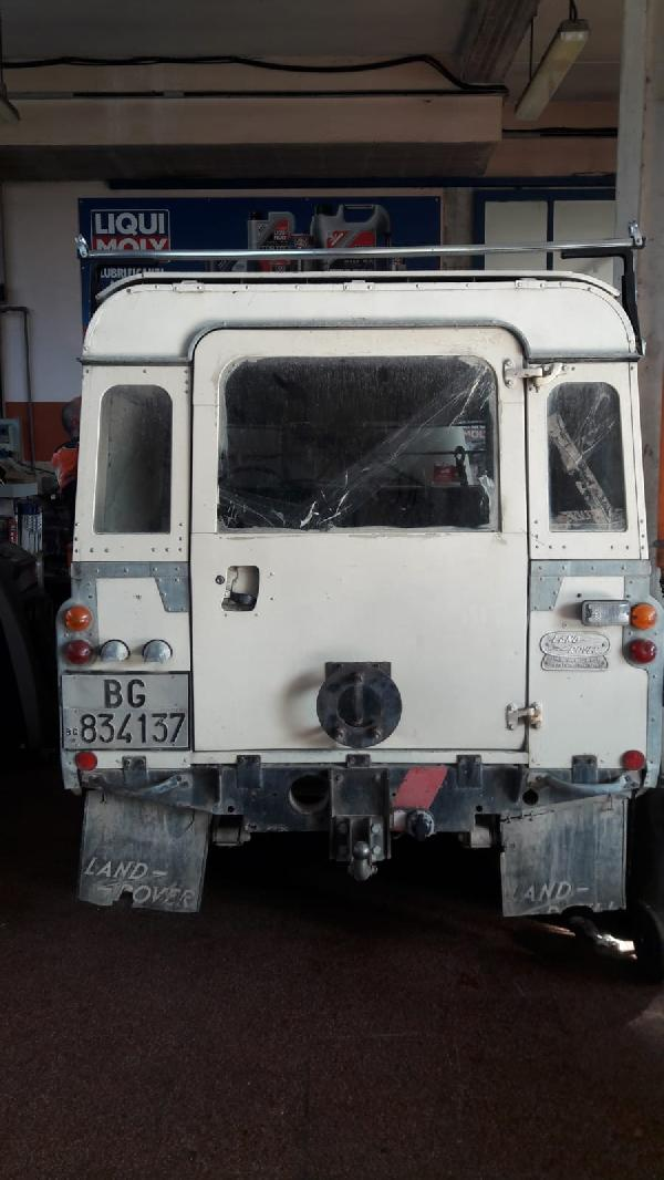 Toscana land, rover, serie, 88, swd