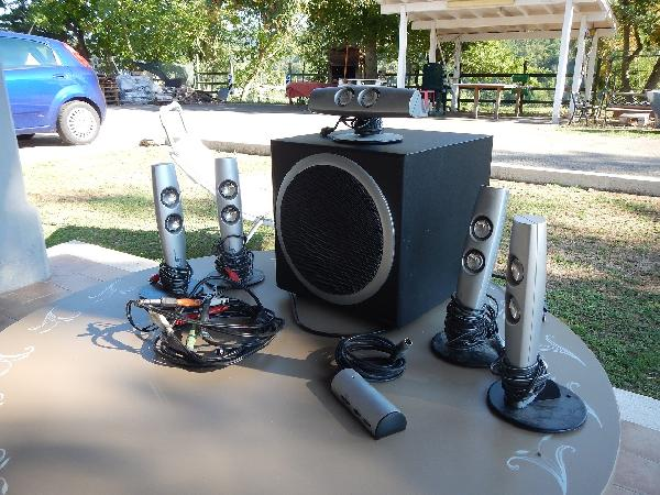 sound system completo
