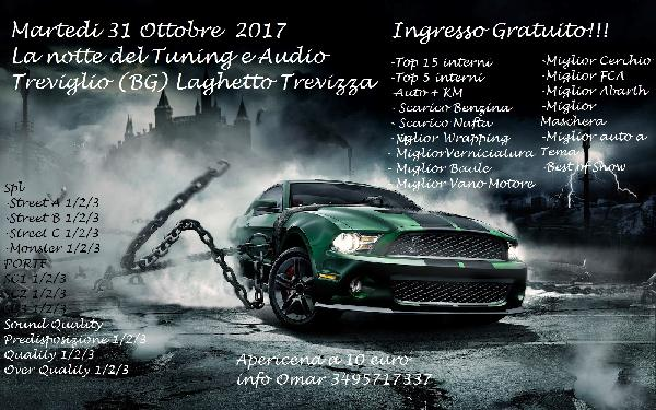 La Notte del Tuning e Audio
