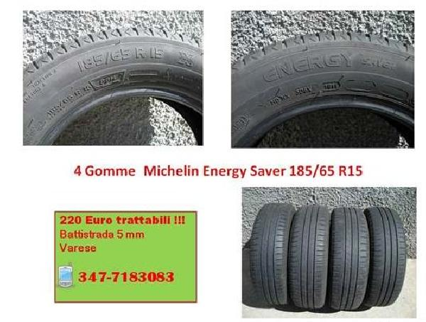 4 Gomme Michelin 185/65 15 H88 Energy Saver