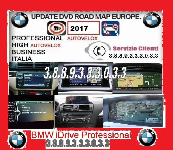 MAPPE BMW 2017 PROFESSIONAL-BUSINESS-HIGH-MOTION-PREMIUM-  AUTOVELX