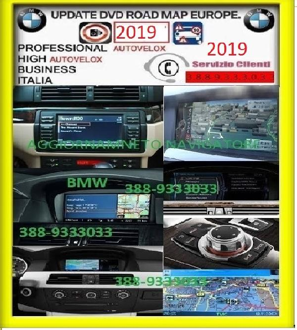 Veicoli Ricambi auto e accessori Calabria dvd, bmw, road, map, europe, high, 2019,