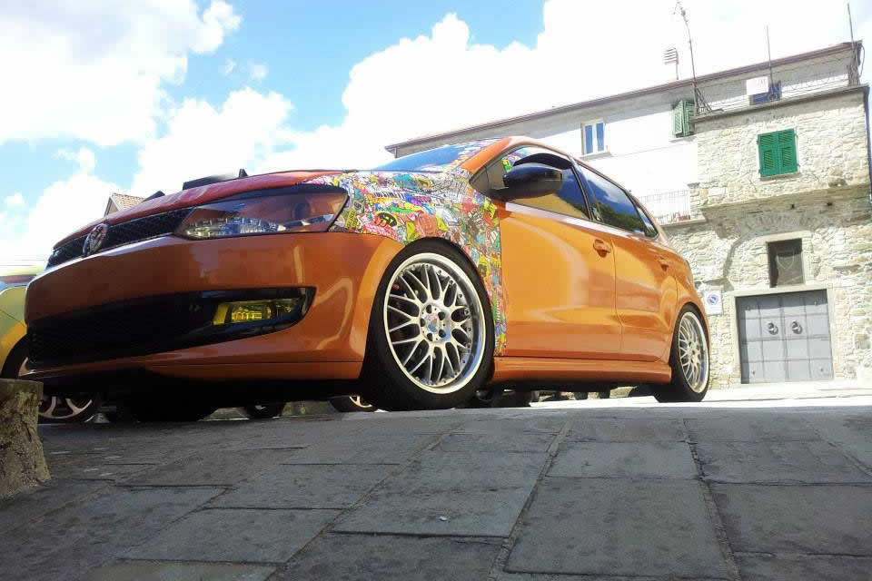 VW POLO – ORANGE TUNING