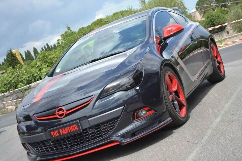 OPEL – ASTRA J GTC BY THE PANTHER