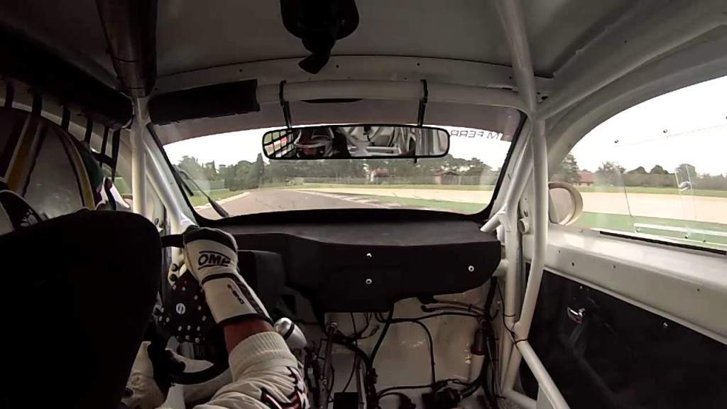 A lap aboard the Race Cinquone at Imola!