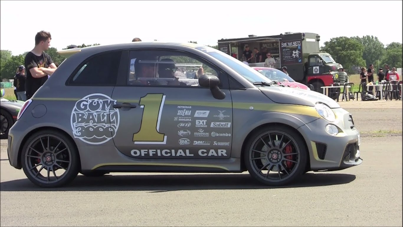 Abarth 695 Biposto Onboard Lap at Top Gear Track