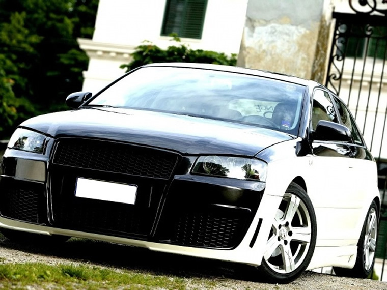 AUDI A3 – BLACK AND WHITE
