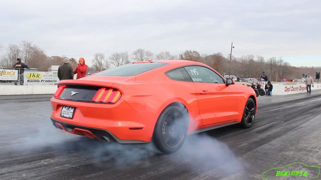 Mustang 2015 Ecoboost 4Cyl is Shockingly Quick! – Tune Only by JLP
