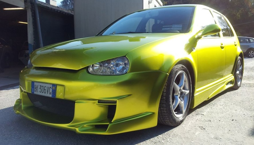 VW GOLF IV – GOLD DEVIL