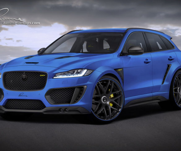JAGUAR F-PACE TUNING BY LUMMA DESIGN