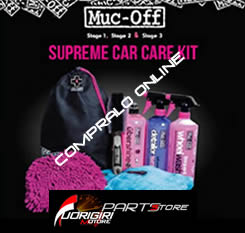 muc off supreme, kit pulitore per auto