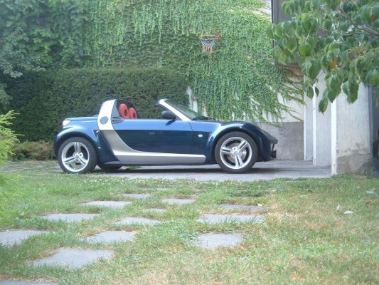 auto smart, Roadster 82cv pack Sport tuning