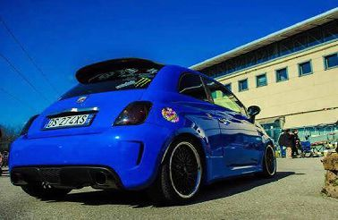 BLUE SKY ANIMO ABARTH